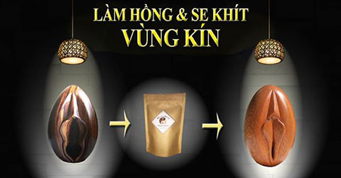 làm hồng se khít vùng kín